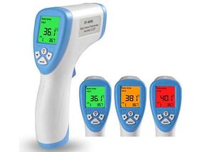 Безконтактний термометр медичний інфрачервоний Non Contact, фото 3