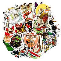 Стикерпак GeekLand Аниме Хаяо Миядзаки 50 штук Hayao Miyazaki S HM 021