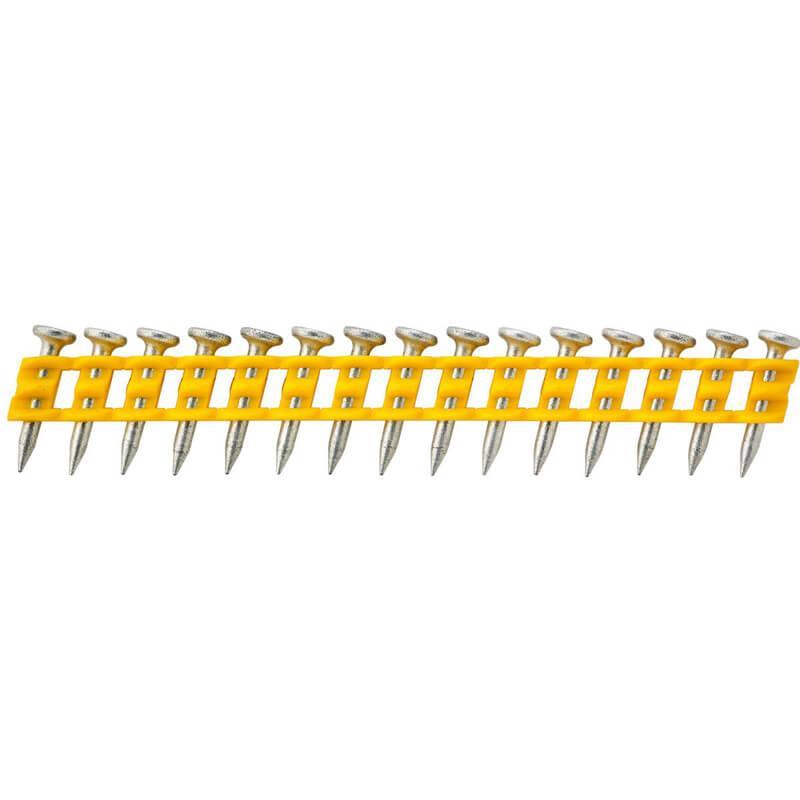 Гвозди для гвоздезабивного пистолета для мягкого бетона 20 x 2.6 мм DeWALT DCN8901020 1005 штук