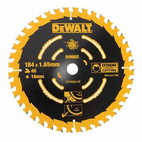 Диск пильный 184 x 16 мм DeWALT DT10303