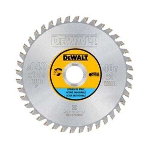 Диск пильный 140 x 20 мм DeWALT DT1918