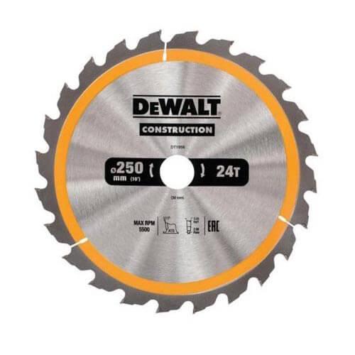 Диск пильный 250 x 30 мм DeWALT DT1956