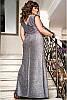 Красивое блестяще вечернее платье Ферарри, фото 6