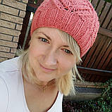 Ажурная женская шапка, фото 3