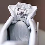 Nike Air Force Shadow  Женские осенние белые кожаные кроссовки. Женские кроссовки на шнурках, фото 10