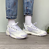 WMNS NIKE ZOOM 2K Женские осенние белые кожаные кроссовки. Женские кроссовки на шнурках, фото 8
