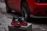 Balenciaga Triple S Clear Sole Женские осенние черные кожаные кроссовки. Женские кроссовки на шнурках, фото 2
