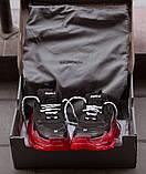Balenciaga Triple S Clear Sole Женские осенние черные кожаные кроссовки. Женские кроссовки на шнурках, фото 10