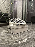 Dior B23 Low-Top Женские осенние белые текстильные кроссовки. Женские кроссовки на шнурках, фото 5