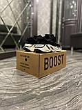 Adidas Yeezy 700 V2 Beige Женские осенние черные текстильные кроссовки. Женские кроссовки на шнурках, фото 6