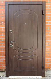 Металеві двері для зовнішньої експлуатації
