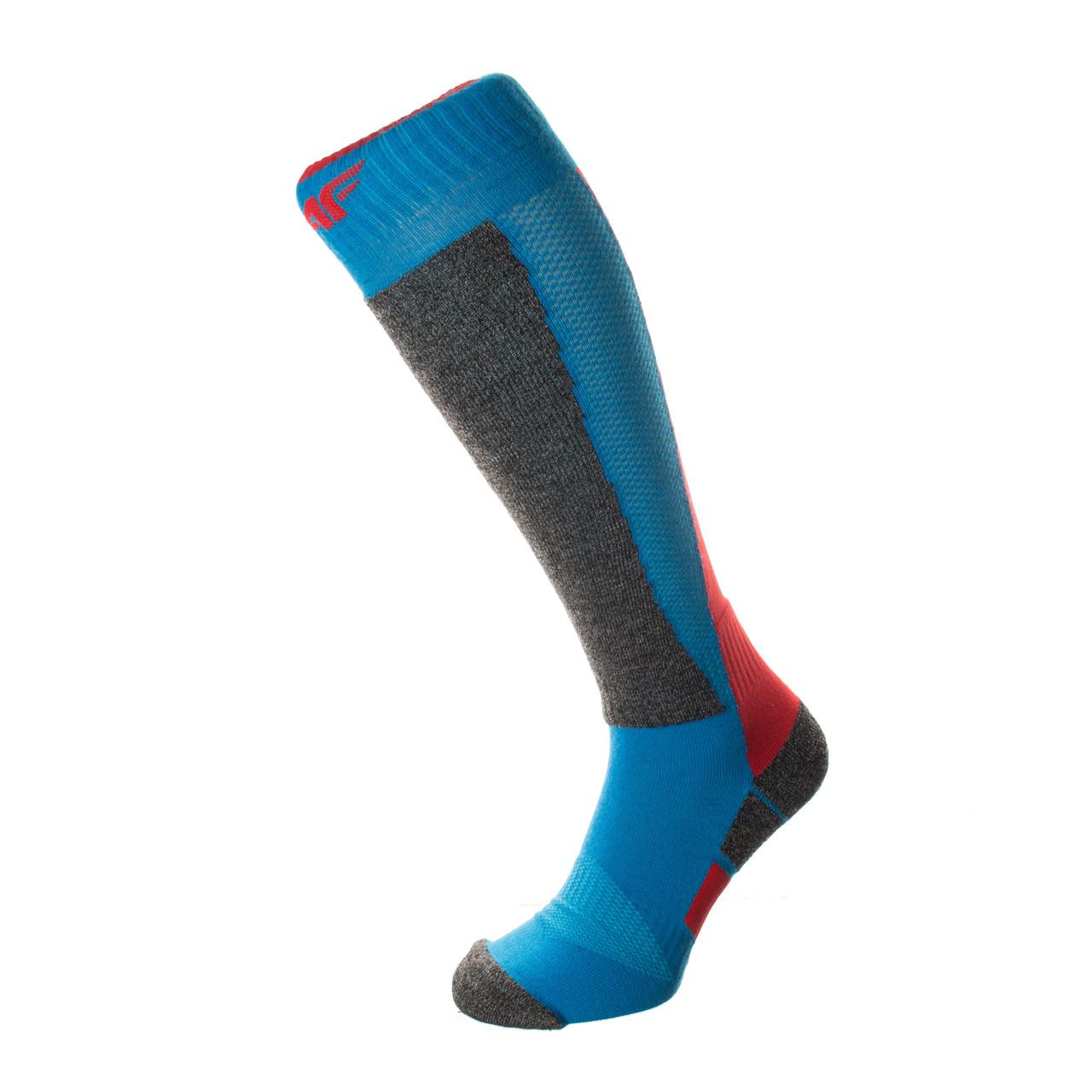 Шкарпетки лижні 4F Warm 43-46 blue-red
