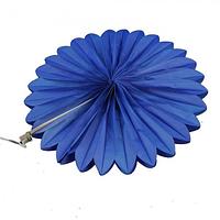 Веерный круг тишью 20см синий 0002, фото 1