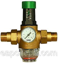 "Редуктор тиску HERZ 3/4"" Температура 0-40 °C"
