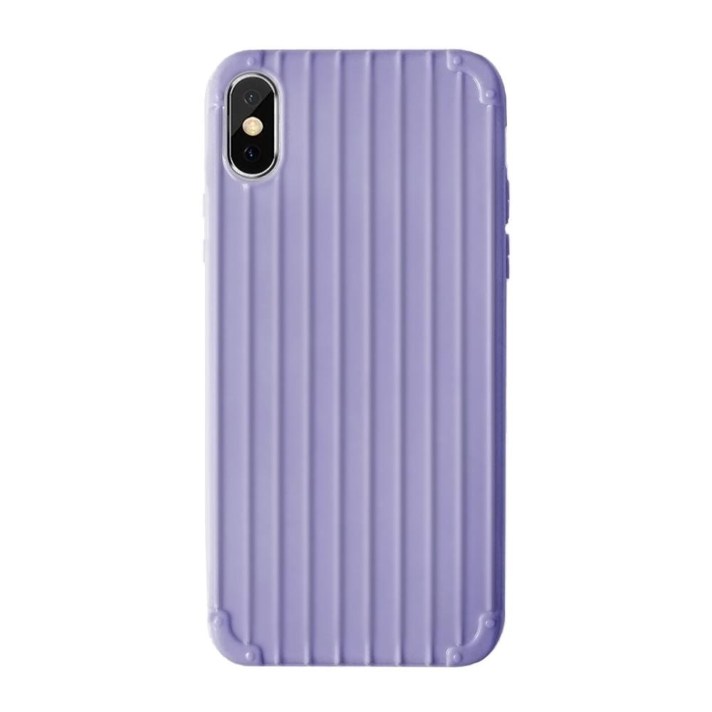 Чохол силіконовий для iPhone Xs Max Фіолетовий