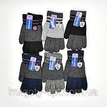 Перчатки теплые шерстяные для мальчиков (продаются только от 12 пар)