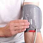 Вимірювач артеріального тиску, манжета розміру М-L, з чохлом, фото 2