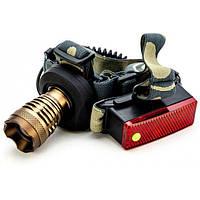 Профессиональный аккумуляторный налобный фонарь POLICE CREE-T6 2 в 1