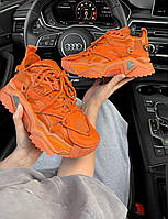 Кроссовки женские Calvin Klein Strike 205 Orange Premium - Кельвин Кляйн Оранжевые - 37, 38