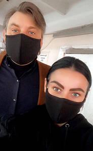 """Защитная трёхслойная маска """"Питта Хлопок"""" в расцветках (14-012)"""