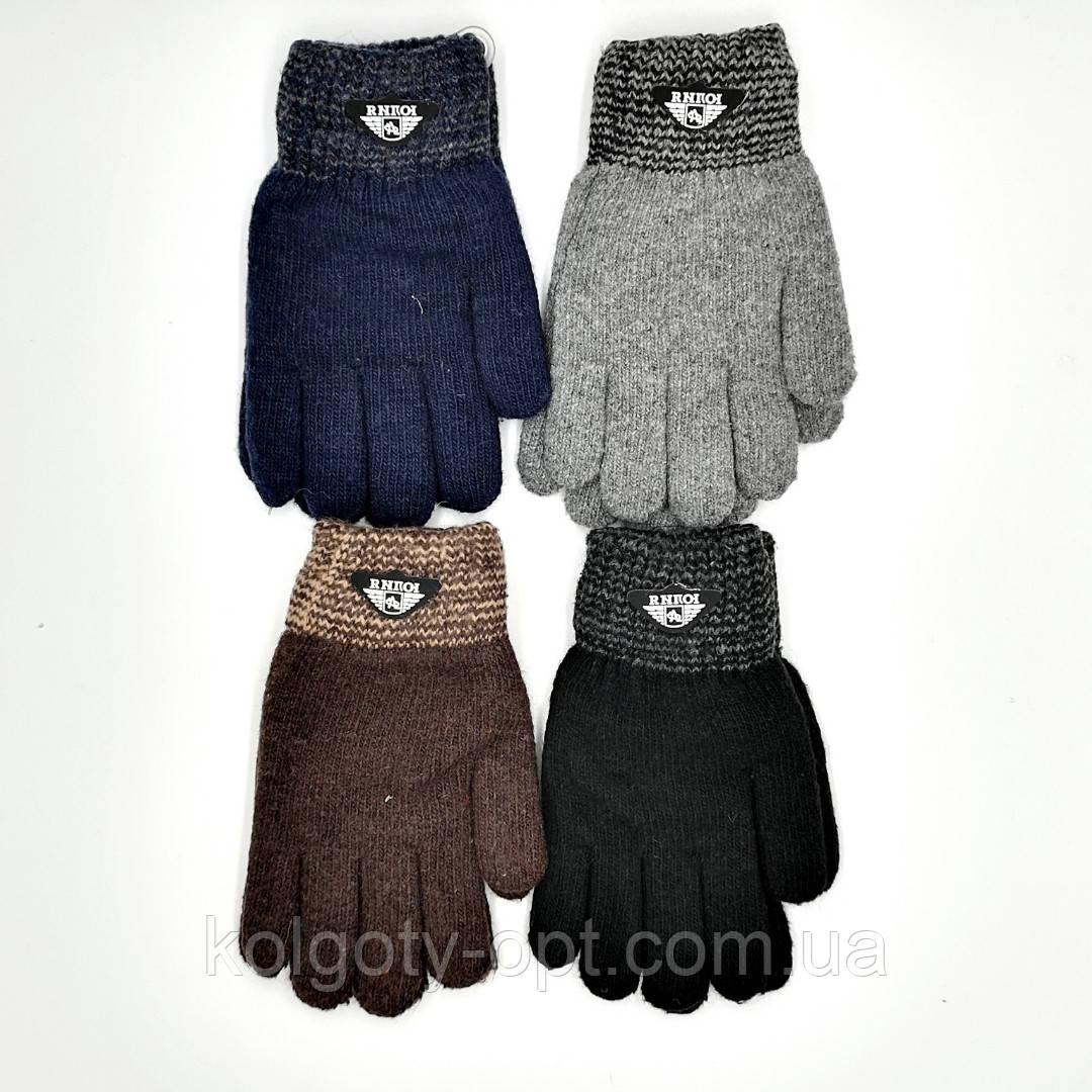 Перчатки рукавички теплі подвійні для хлопчиків (продаються тільки від 12 пар)