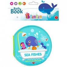 Книжечка для купания малыша BamBam  Морские зверюшки Польша