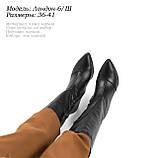 Зимові чоботи на шпильці, фото 7