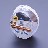 Автомобильные лампы H3 Philips X-Treme Vision G-Force +130% 12336XVG, фото 1