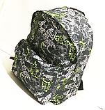 Молодежные городские рюкзаки (ПРИНТ БАБОЧКИ)30x40см, фото 3