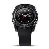 Смарт-часы UWatch SmartWatch SW V8 Black, фото 3