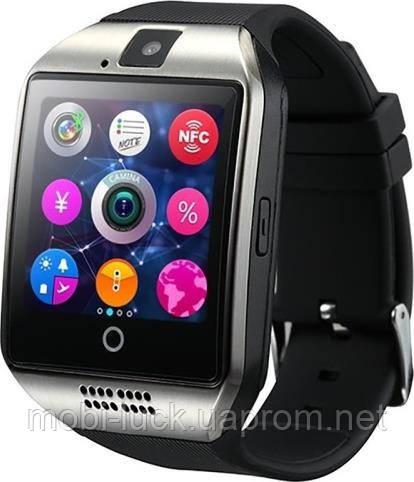 Смарт-часы UWatch Smart Q18 Black/Silver