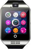 Смарт-часы UWatch Smart Q18 Black/Silver, фото 2