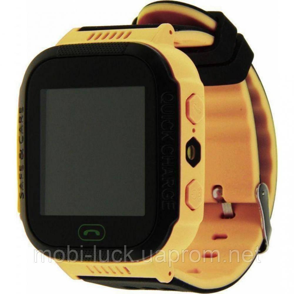 Смарт-часы UWatch Q528/529 Kids yellow