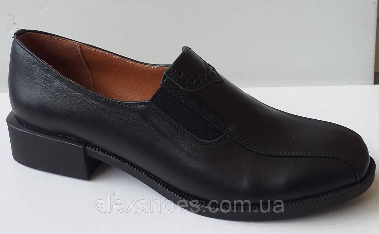Туфли женские из натуральной кожи от производителя модель ДИС-К2Н