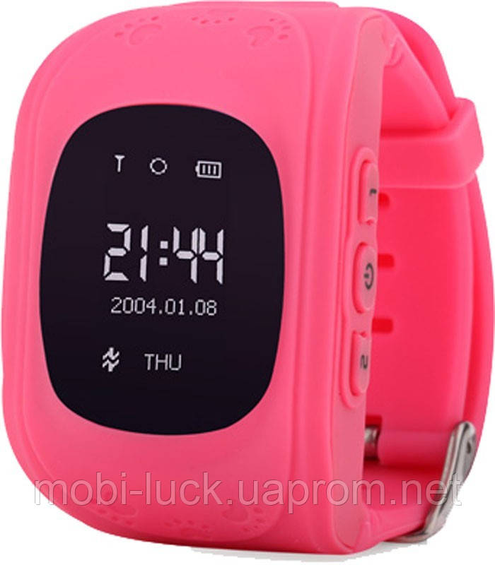 Смарт-часы Smart Baby W5 GPS Smart Tracking Watch Pink (Q50)