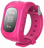 Смарт-часы Smart Baby W5 GPS Smart Tracking Watch Pink (Q50), фото 2