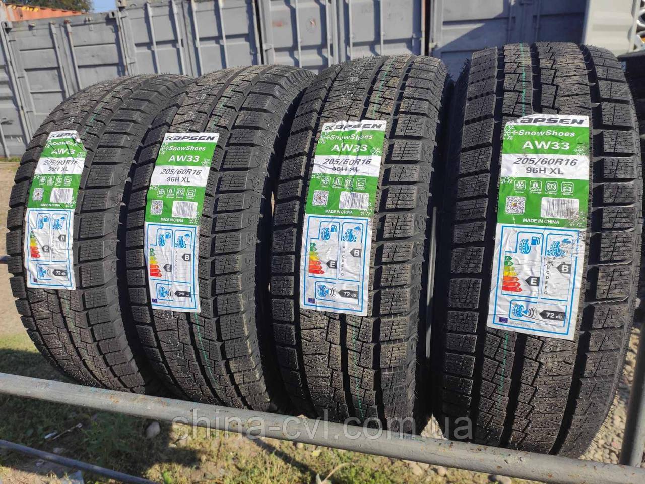 Зимові шини 205/60 R16 96H XL KAPSEN SNOWSHOES AW33