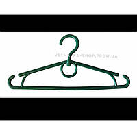 Вешалки плечики тремпеля с кольцом детские пластмассовые 32 см для одежды