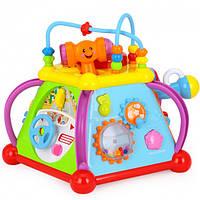 Мультибокс 15 уникальных игр развивающая игрушка для детей 806. С телефоном и микроф, стучалка