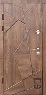 Двери входные NEXT +3D цвет коньячное дерево