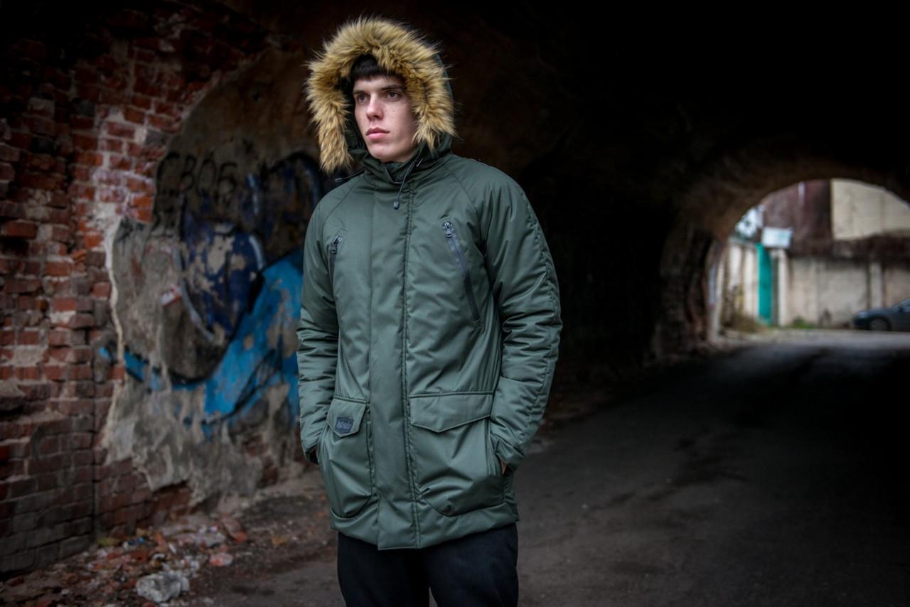 Зимняя парка,  мужская куртка HotWint