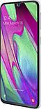 Смартфон Samsung Galaxy A40 (A405F) 2019 4/64GB White, фото 3