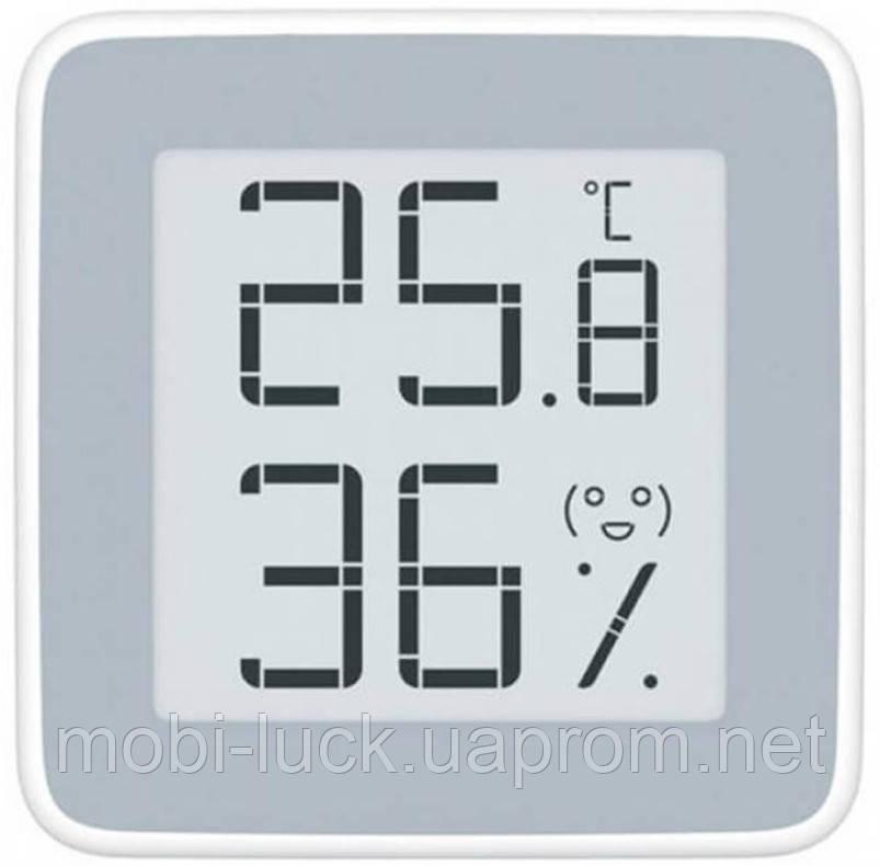 Цифровий вимірювач вологості, термометр Xiaomi MiaoMiaoCe E-Link INK Екран (MHO-C201)