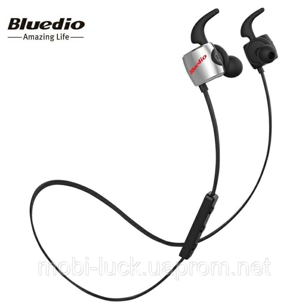 Bluetooth-навушники BLUEDIO TE Black