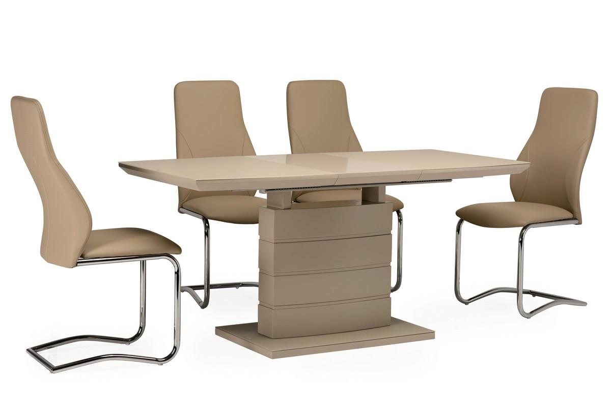 Стол ТММ-50-1 (Капучино мат) 1200(+400)*800