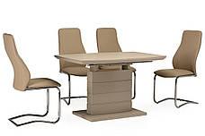 Стол ТММ-50-1 (Капучино мат) 1200(+400)*800, фото 2