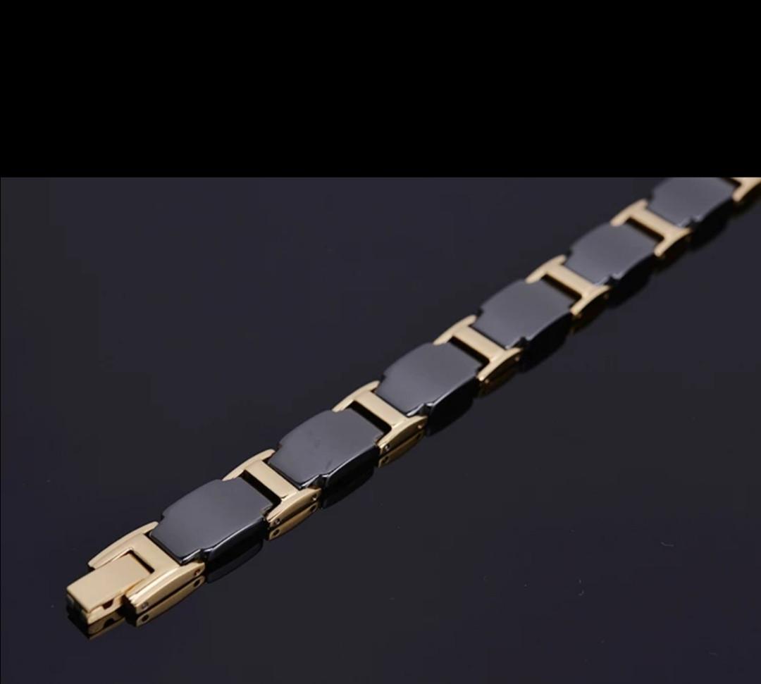 Магнітний браслет з керамічний з Германієм з медичної сталі