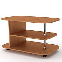 Журнальный стол для книг и газет Танго, мобильный кофейный столик 900х580х534 мм (Компанит)