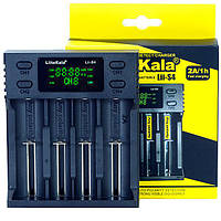 Зарядное устройство LiitoKala Lii-S4 на 4 аккумулятора AA, AAA, 18650, 16340, 14500, 18350, 26650 и др., фото 1