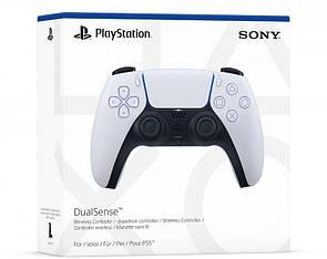 Беспроводной геймпад PlayStation 5 DualSense Bluetooth PS5 White